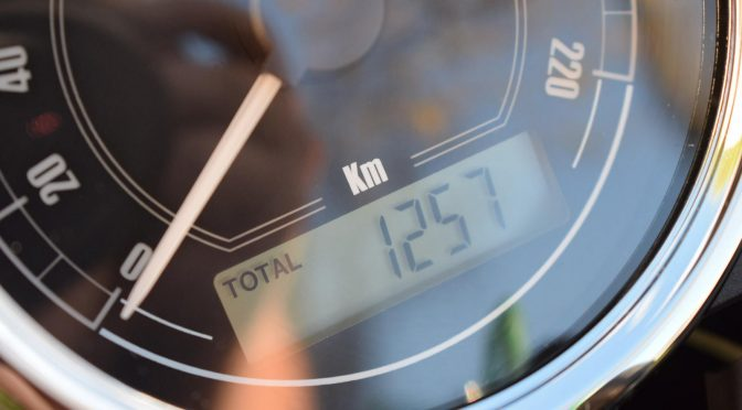 [Occasion] Moto Guzzi V7 II Stone ABS Noir – 2016 – 1300kms – Vendue