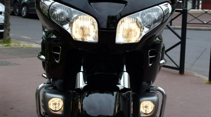 [Occasion] Honda GL1800 Gold Wing Noir – 2008 – 207000kms – 9290€