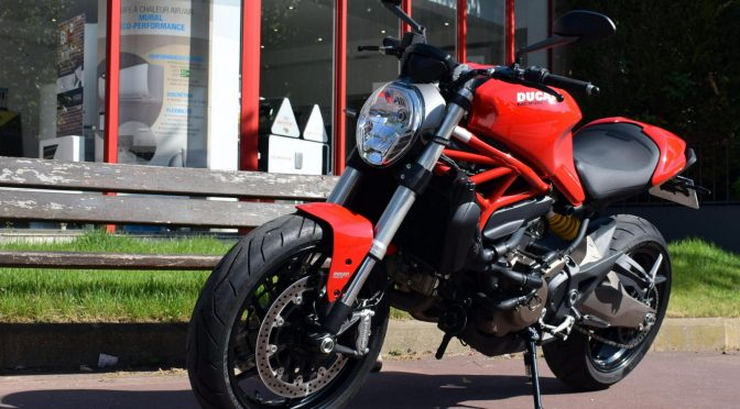 [Occasion] Ducati Monster 821 ABS Rouge – 2016 – 4400kms – Vendue
