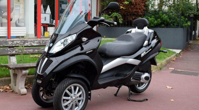 [Occasion] Piaggio Mp3 LT 300 2011 – 18300kms – Vendu