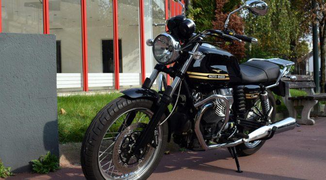 [Occasion] Moto Guzzi V7 Classic Noir – 2011 – 36100kms – Vendue