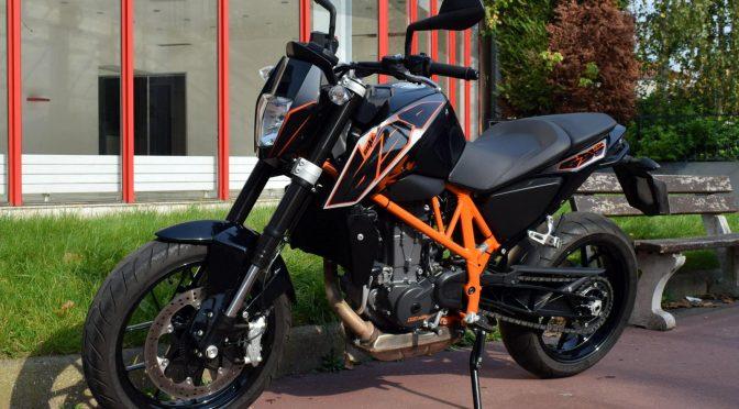 [Occasion] KTM 690 Duke ABS Noir – 2015 – 10300kms – Vendue