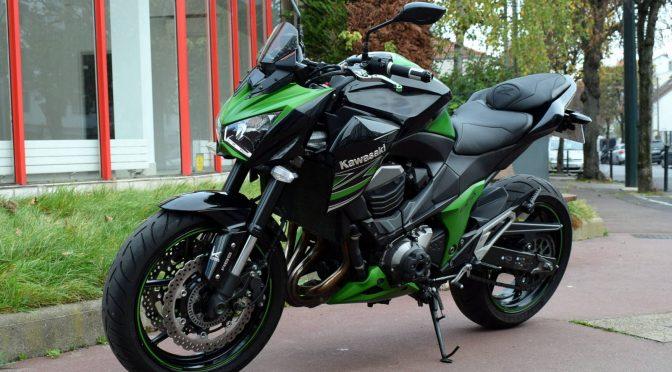 [Occasion] Kawasaki Z800 ABS Noir 2013 – 15700kms – Vendue