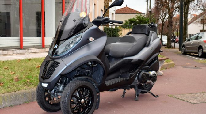 [Occasion] Piaggio MP3 LT 500 Sport Gris Mat – 2015 – 20400kms – 4790€