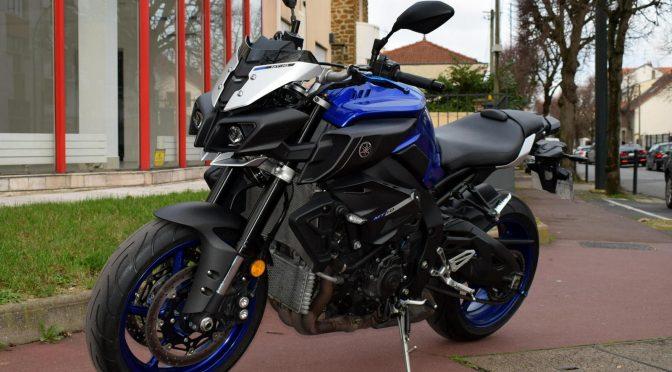 [Occasion] Yamaha MT10 Bleu – 2017 – 12600kms – Vendue