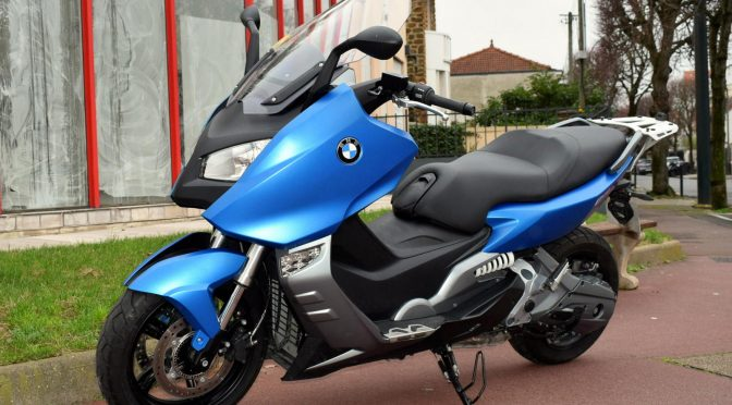 [Occasion] BMW C600 Sport 2013 Bleu – 3100kms – Vendu