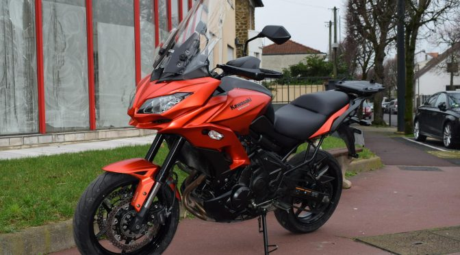 [Occasion] Kawasaki Versys 650 ABS Rouge 2016 – 17400kms – Vendue