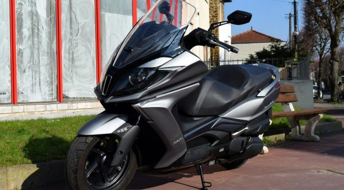 [Occasion] Kymco Downtown 350 ABS Gris 2016 – 10600kms – Vendu