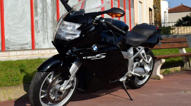[Occasion] BMW K1200S Noir 2008 – 93000kms – Vendue