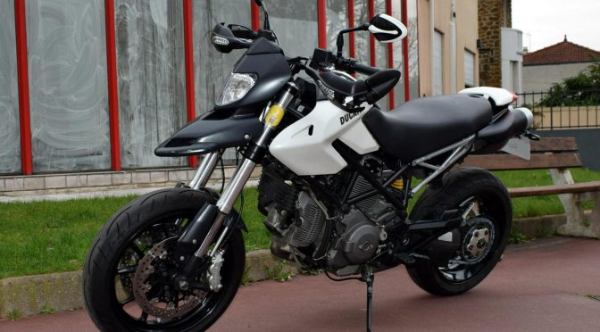 [Occasion] Ducati Hypermotard 796 Blanc 2012 – 19800kms – 5990€