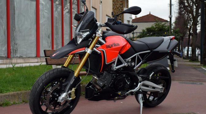 [Occasion] Aprilia Dorsoduro 750 ABS Rouge 2014 – 4700kms – Vendue