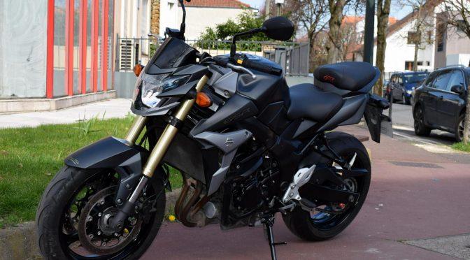 [Occasion] Suzuki GSR 750 ABS Noir 2015 – 25900kms – Vendue