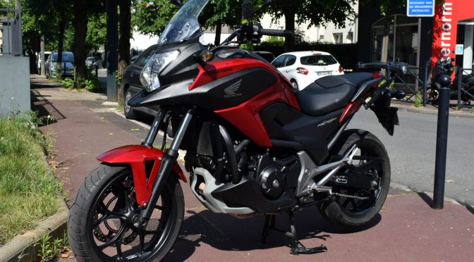 [Occasion] Honda NC750X DCT 2014 Rouge – 22000kms – 5790€