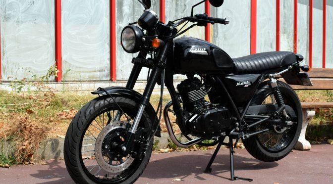 [Occasion] Bullit Hunt S 125 2017 Noire – 12200kms – Vendue