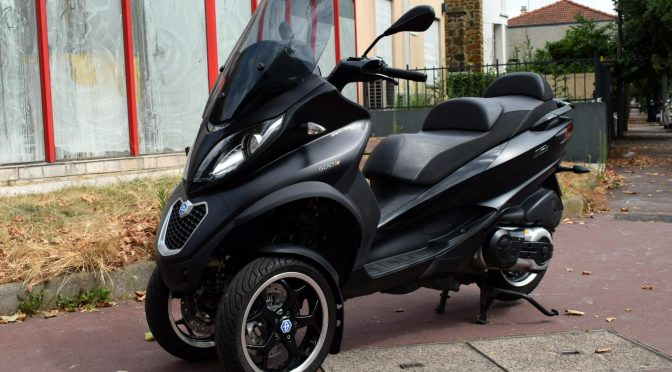 [Occasion] Piaggio Mp3 LT 500 ABS Sport 2015 Noir – 31200kms – 5790€