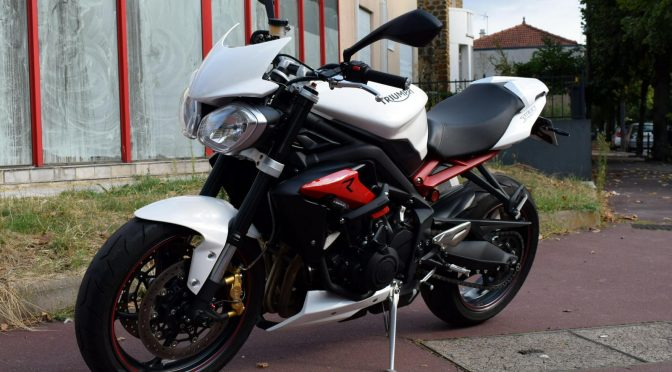 [Occasion] Triumph Street Triple 675R ABS 2016 – 2400kms – 7990€