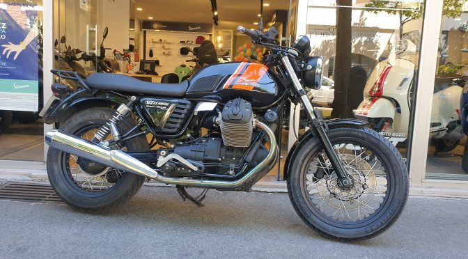 [OCCASION] moto guzzi v7 ii 2014 – 32802KMS – 4990€